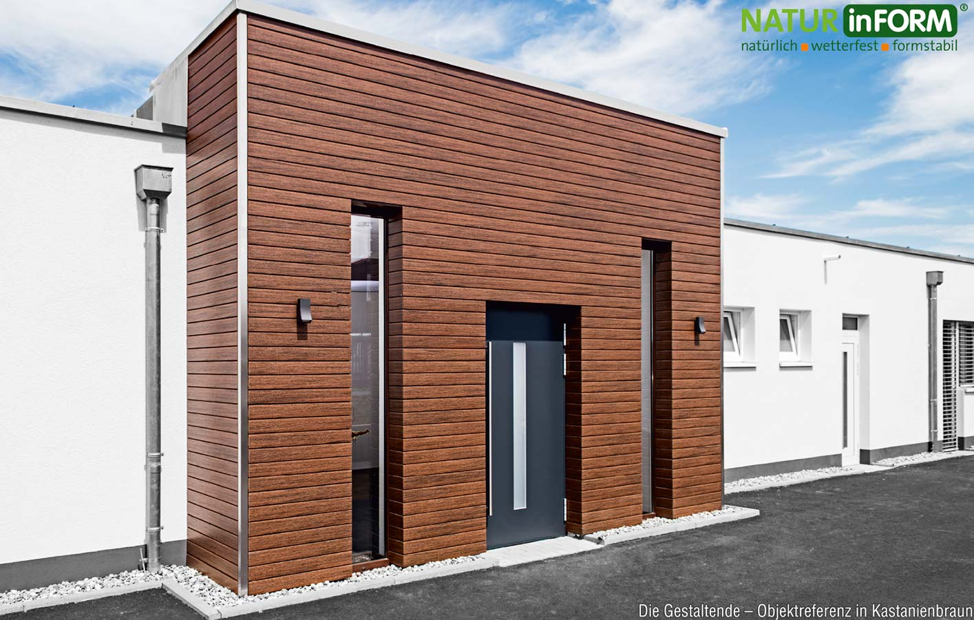 thermoholz fassade latest thermoesche vorvergraut with thermoholz fassade die unsichtbare. Black Bedroom Furniture Sets. Home Design Ideas